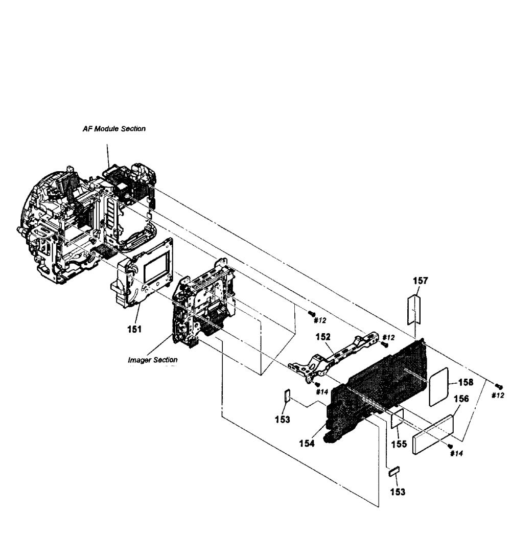 medium resolution of sony model slt a35 cameras all genuine parts main pcb