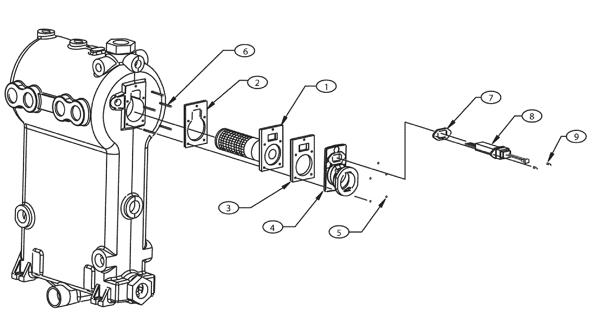 Dunkirk model Q90-200 SERIES 2 boiler-storage tanks