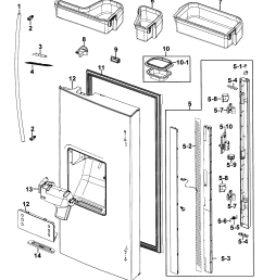 samsung model rf267aers xaa 00 bottom mount refrigerator genuine parts rh searspartsdirect com samsung refrigerator parts diagram rf18 samsung refrigerator  [ 2541 x 2914 Pixel ]
