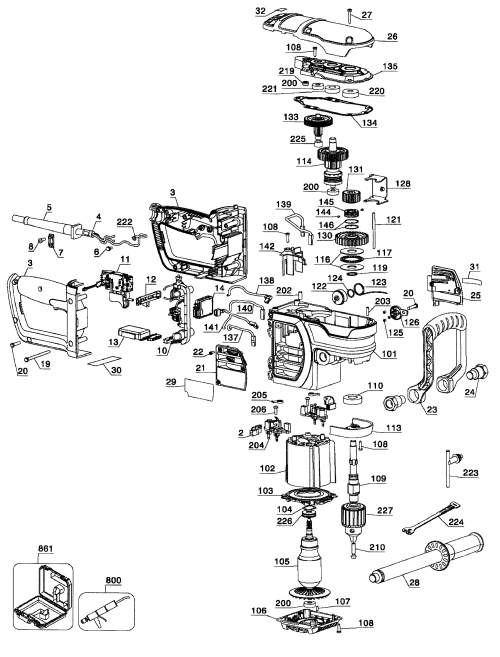 small resolution of drill assy