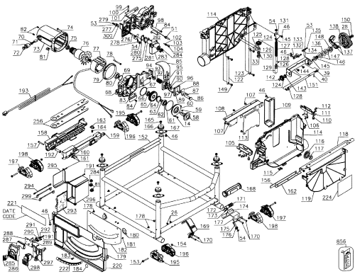 small resolution of saw assy