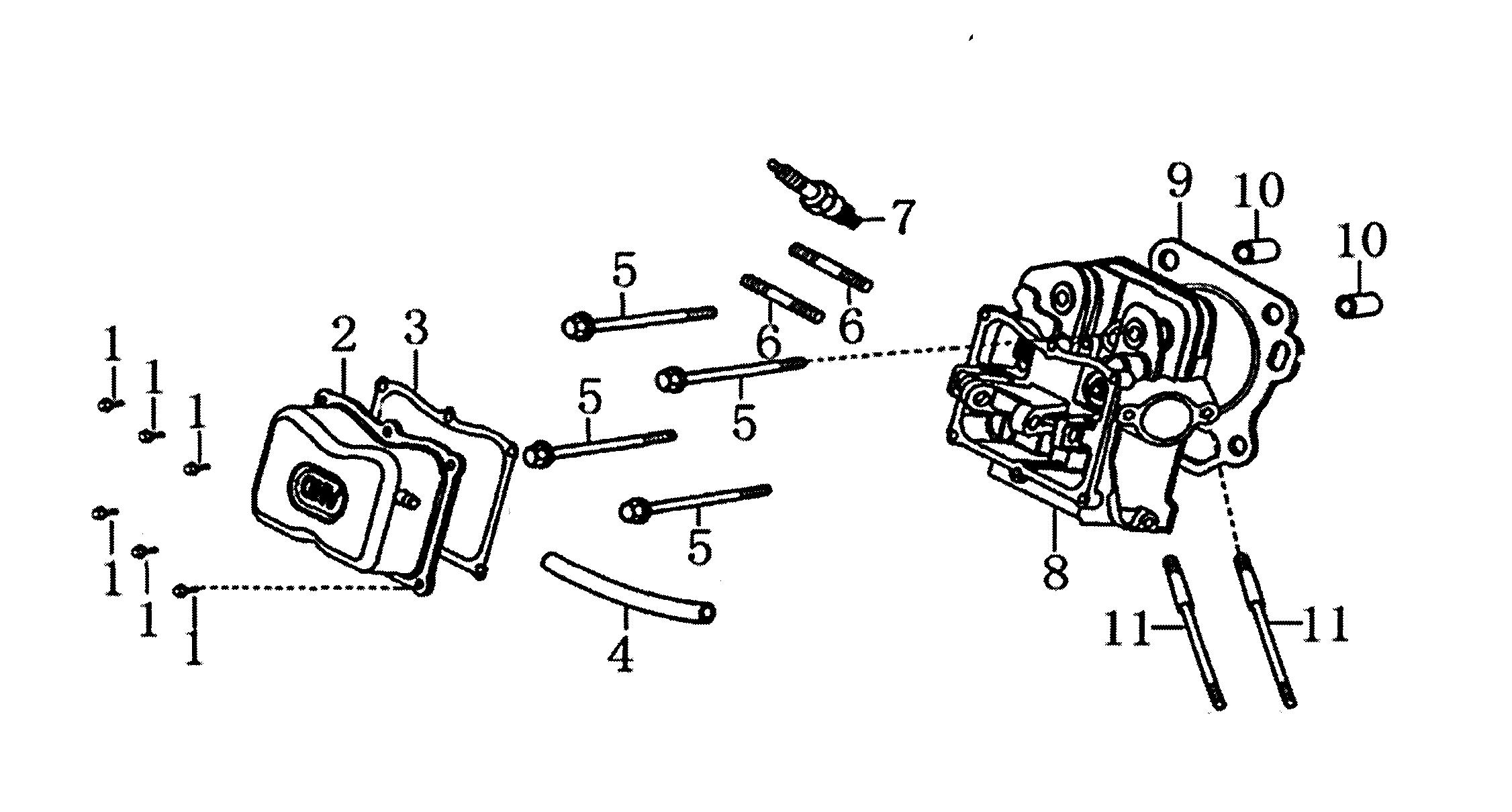 Generac model 006673-0 generator genuine parts