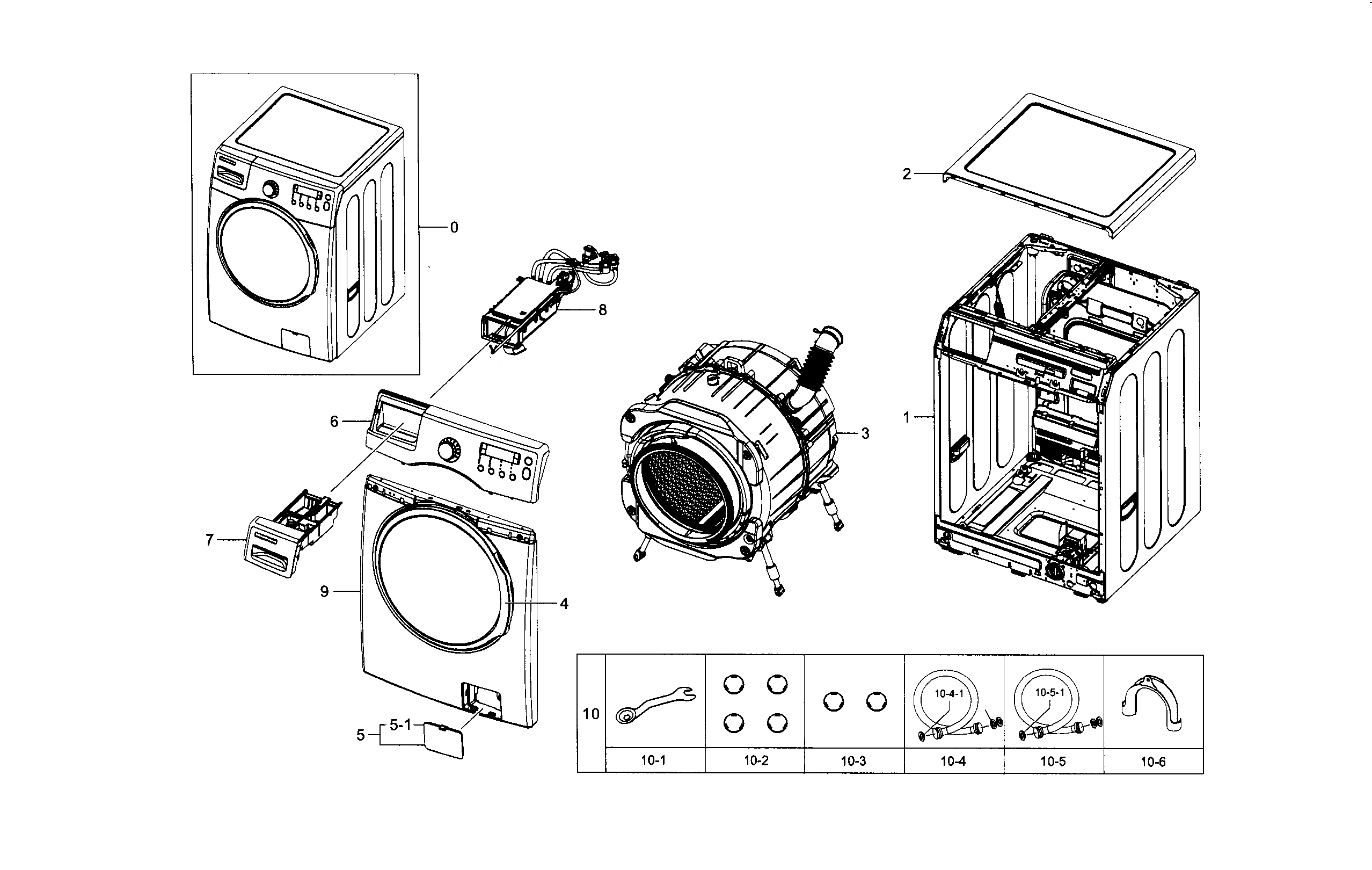front load washer parts diagram 97 s10 stereo wiring samsung model wf330anwxaa0005 sears