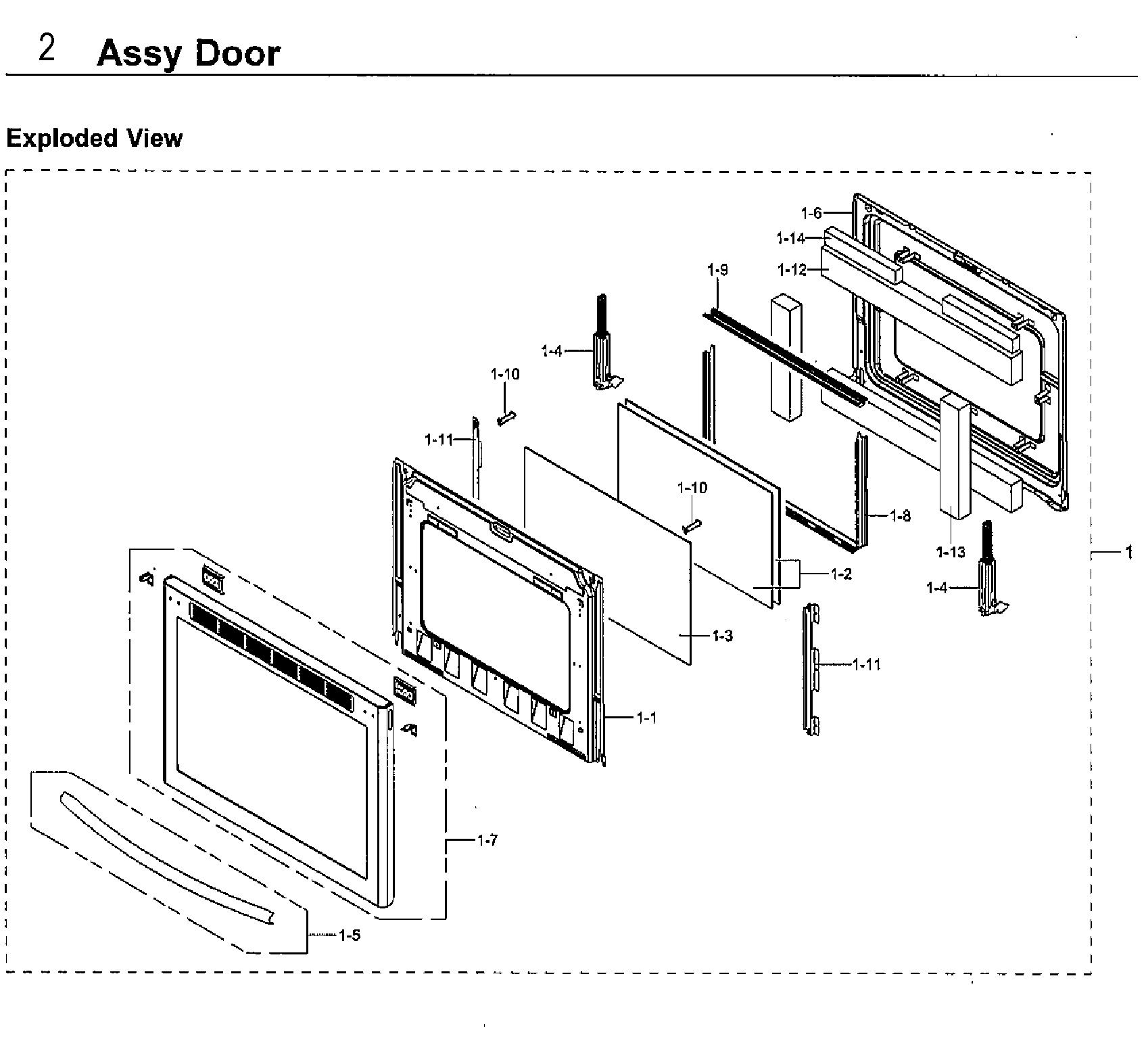 Samsung model NX58H9950WS/AA-01 slide-in range, gas