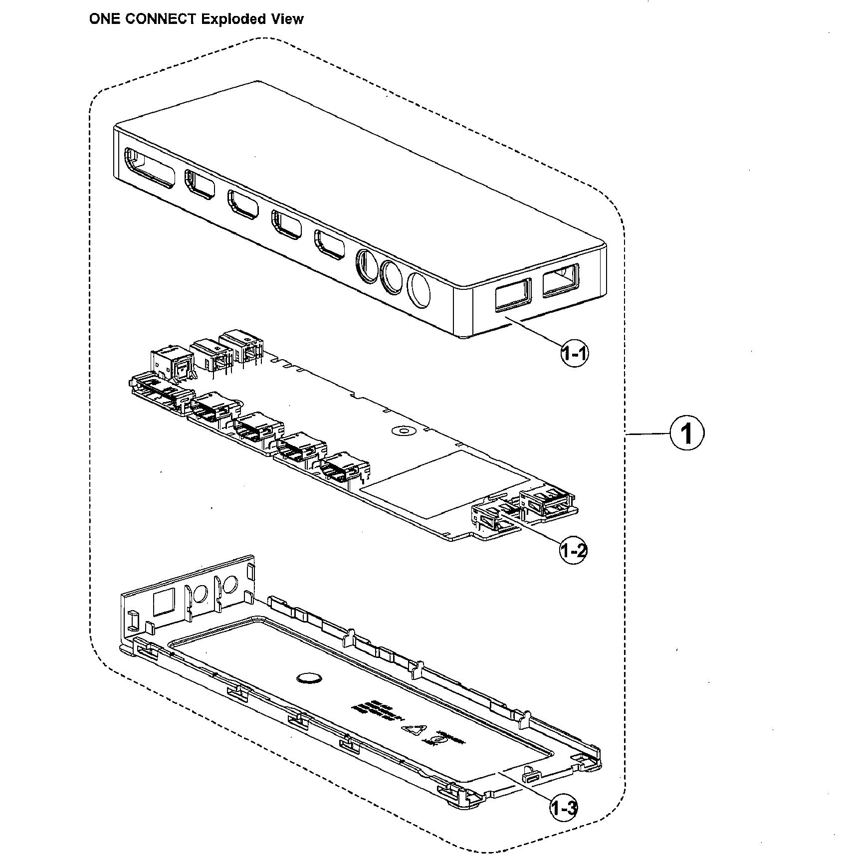 Samsung model UN65MU8000FXZA-AA02 lcd television genuine parts