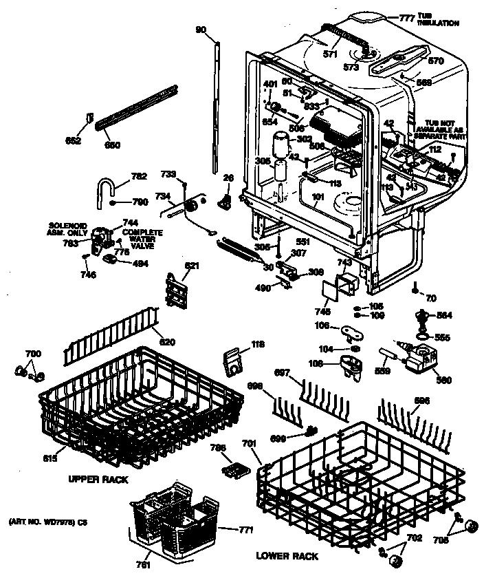 Ge Dishwasher Model Number Location, Ge, Free Engine Image