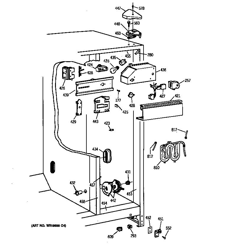 Kenmore model 36350222000 side-by-side refrigerator