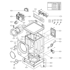 Lg Front Load Washer Parts Diagram Hpm Phone Socket Wiring Model Wm2050cw Residential Washers Genuine