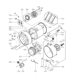 How To Wire A Hot Tub Diagram 3 Way Switch Connection Lg Model Wm2301hw Residential Washers Genuine Parts Drum And