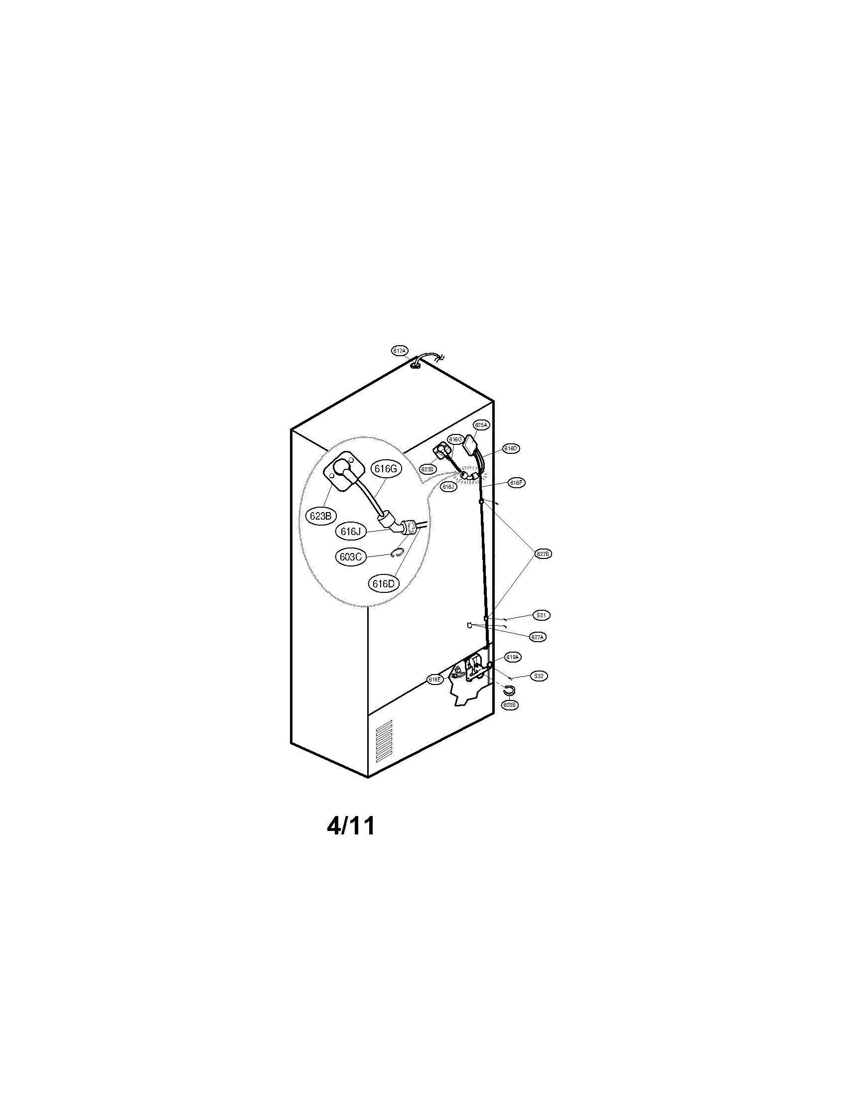Kenmore 106 Refrigerator Parts Diagram Within Diagram