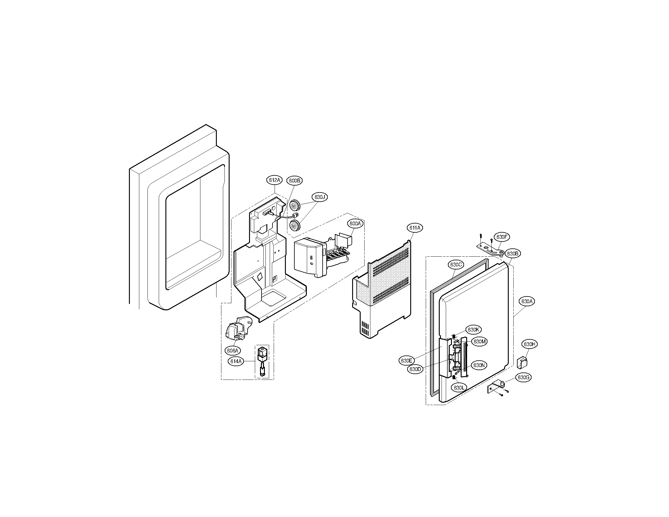 Kenmore model 79571023011 bottom-mount refrigerator