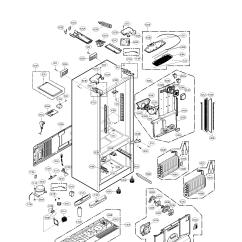 Sears Model 110 Parts Diagram Mercruiser Wiring 3 0 Lg Lfx31925st Bottom-mount Refrigerator Genuine