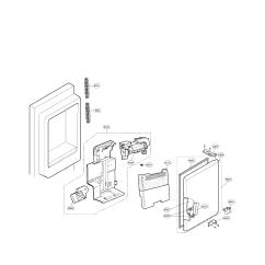 Ice Maker Diagram 1996 Featherlite Horse Trailer Wiring Lg Refrigerator Parts Model Lfx25974st01 Sears Partsdirect