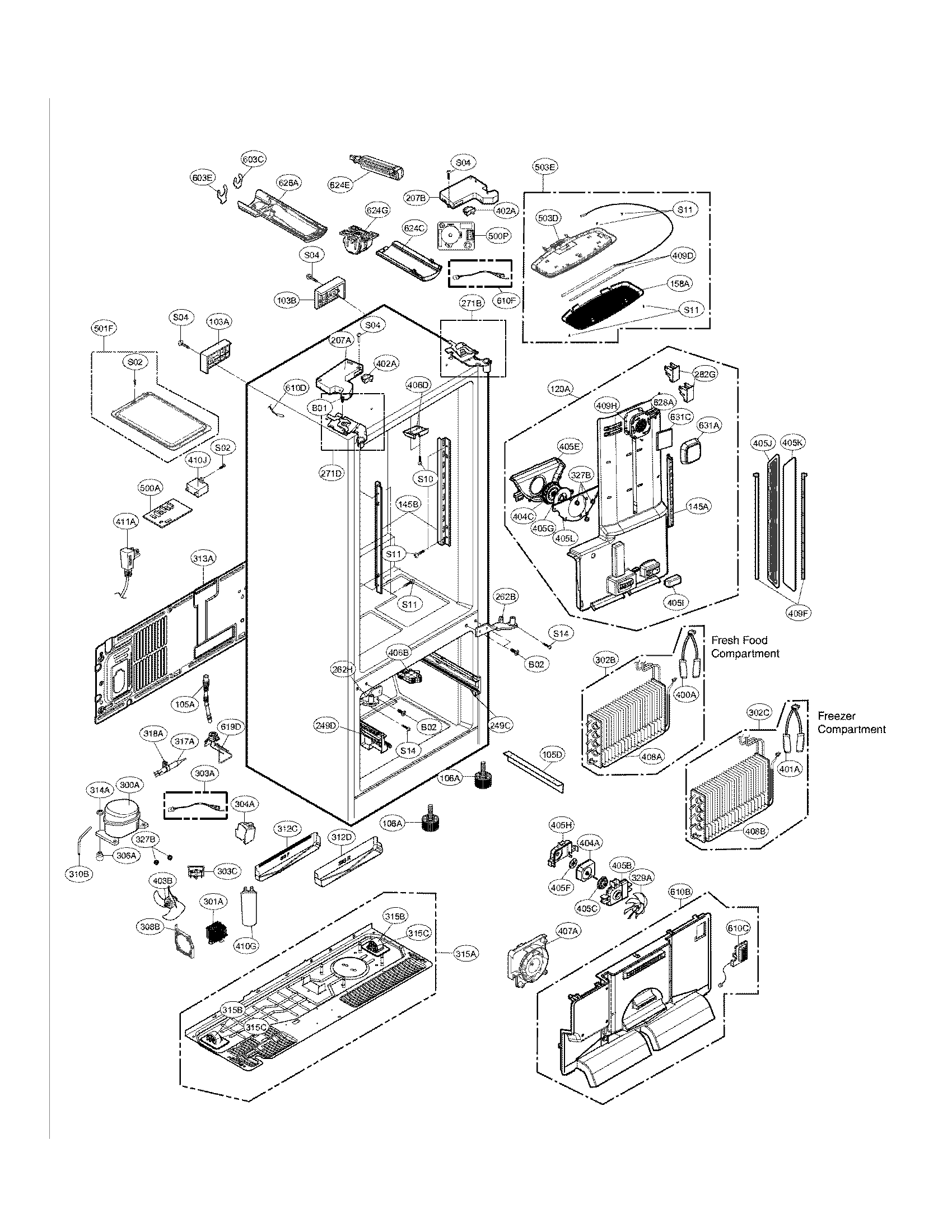 Manual For Sears Kenmore Refrigerator