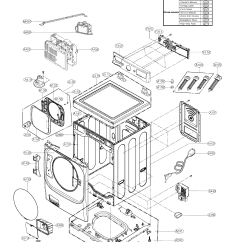 Lg Front Load Washer Parts Diagram Bpmn Conversation Model Wm8000hva Sears Partsdirect