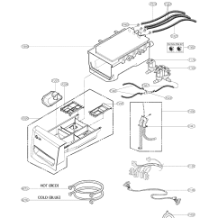 Lg Front Load Washer Parts Diagram Towbar Wiring Model Wm8000hva Sears Partsdirect
