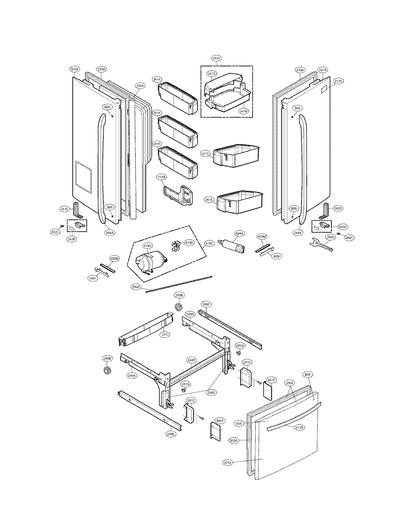 Kenmore-Elite model 79572059112 bottom-mount refrigerator
