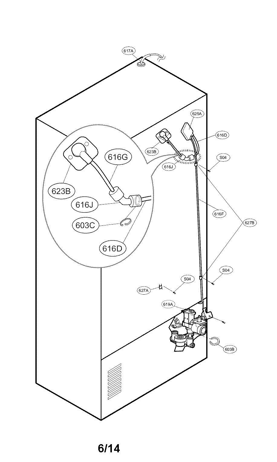 Kenmore-Elite model 79572053110 bottom-mount refrigerator