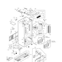 Ice Maker Diagram Subaru Impreza Wiring Lg Refrigerator Parts | Model Lfxs30726s00 Sears Partsdirect