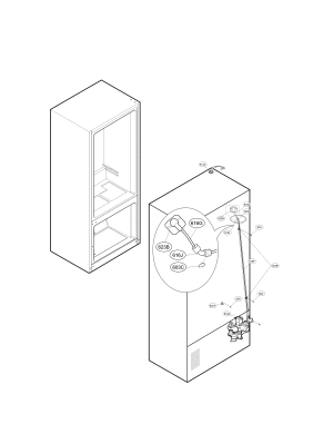 Lg model LMXS30776S01 bottommount refrigerator genuine parts