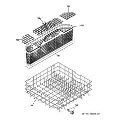 Ge Dishwasher Parts Diagram 3 Bank Marine Battery Charger Wiring Model Gld5660v00ss Sears Partsdirect