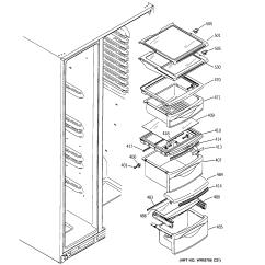 Ge Monogram Refrigerator Parts Diagram 1999 Chevy S10 Starter Wiring Z Series Model Pshs6pgzbess