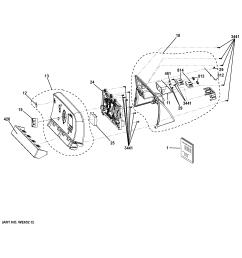 ge electric dryer parts [ 2325 x 2476 Pixel ]