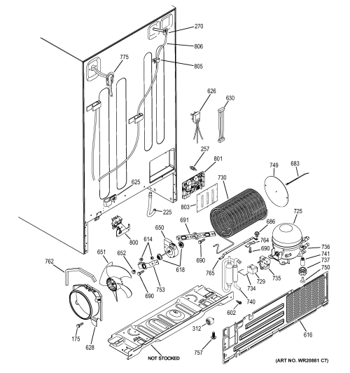 small resolution of side by side refrigerator with ge refrigerator manual