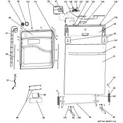 Ge Dishwasher Parts Diagram 1997 Dodge Dakota Coil Wiring Model Gldt690t00bb Sears Partsdirect