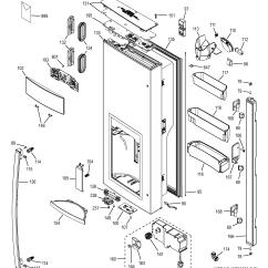 Ge Refrigerator Diagram 99 Cherokee Stereo Wiring Parts Model Gfe28hmhdes Sears Partsdirect