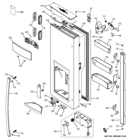 small resolution of ge refrigerator parts model gfe28hmhdes sears partsdirect ge sxs refrigerator wiring diagram ge compressor not running
