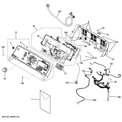 Ge Front Load Washer Diagram Ford Sierra Electronic Ignition Wiring Parts Model Gtwn8250d0ws Sears Partsdirect