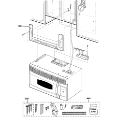 Ge Oven Schematic Diagram 2000 Toyota 4runner Trailer Wiring Microwave Parts Model Sca1001hss03 Sears Partsdirect