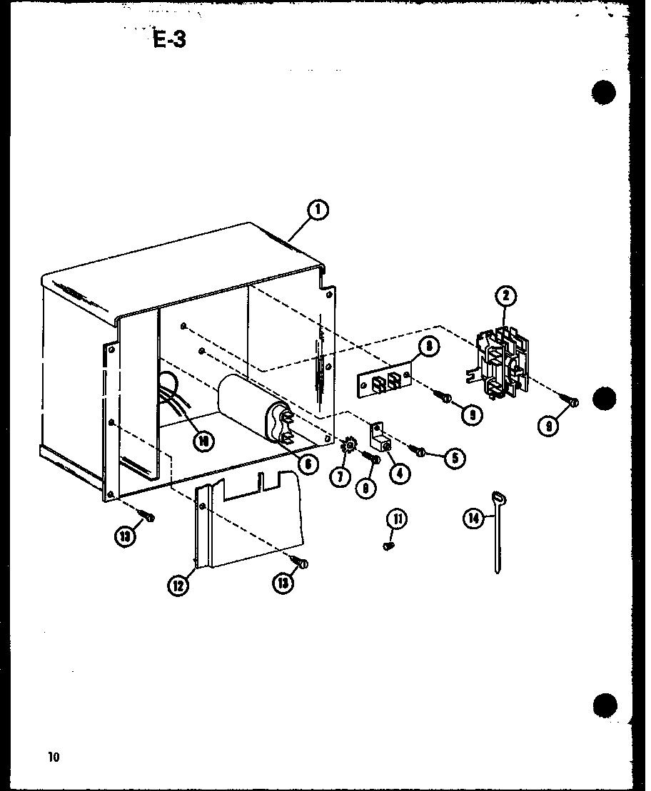 Amana model RCF36U01A/P68446-1C air-conditioner/heat pump