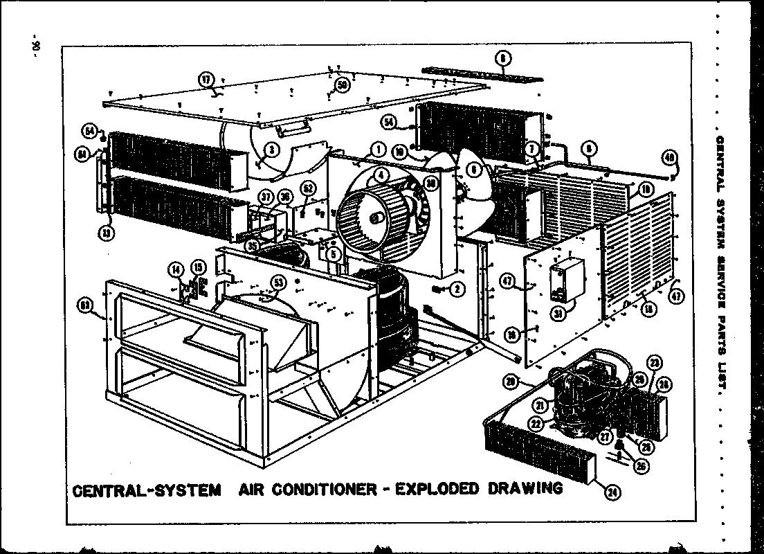 Amana model 350C air-conditioner/heat pump(outside unit