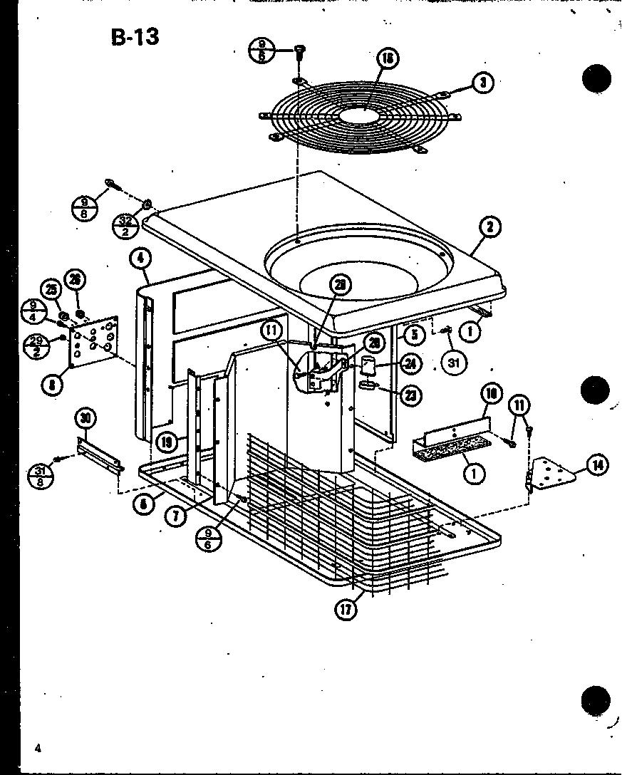 Amana model RCF24U01B/P68446-6C air-conditioner/heat pump