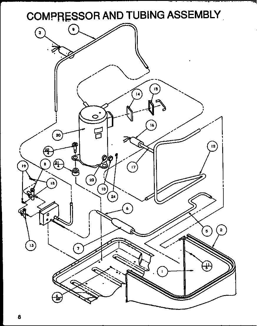 Amana model SRCF36U01D/P1100003C air-conditioner/heat pump