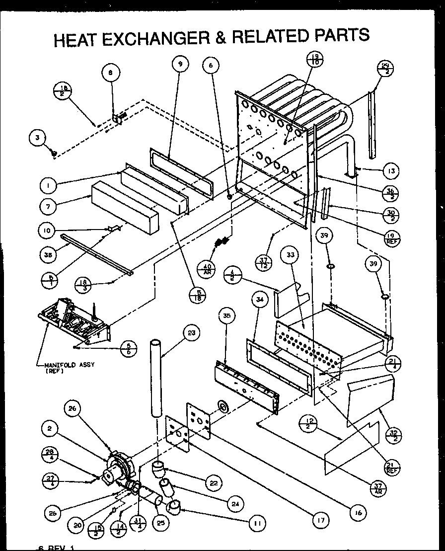 Amana model GUC090X35A/P1173604F misc hvac genuine parts