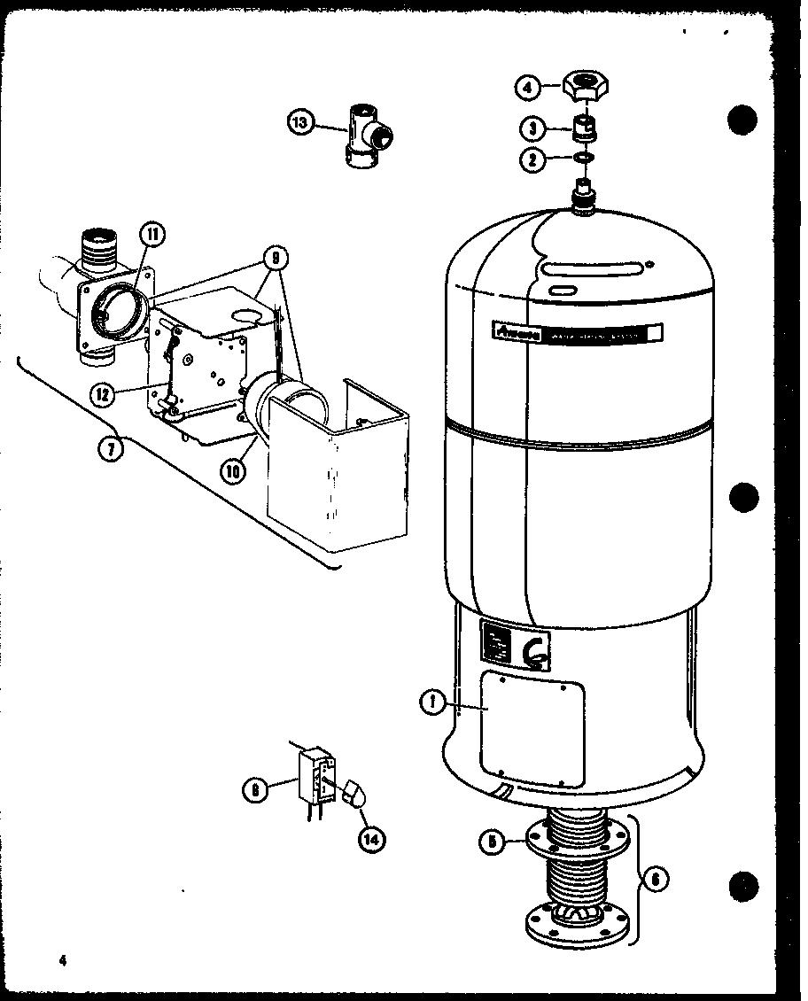 Amana model EGWH0040CA/P68640-2F misc hvac genuine parts