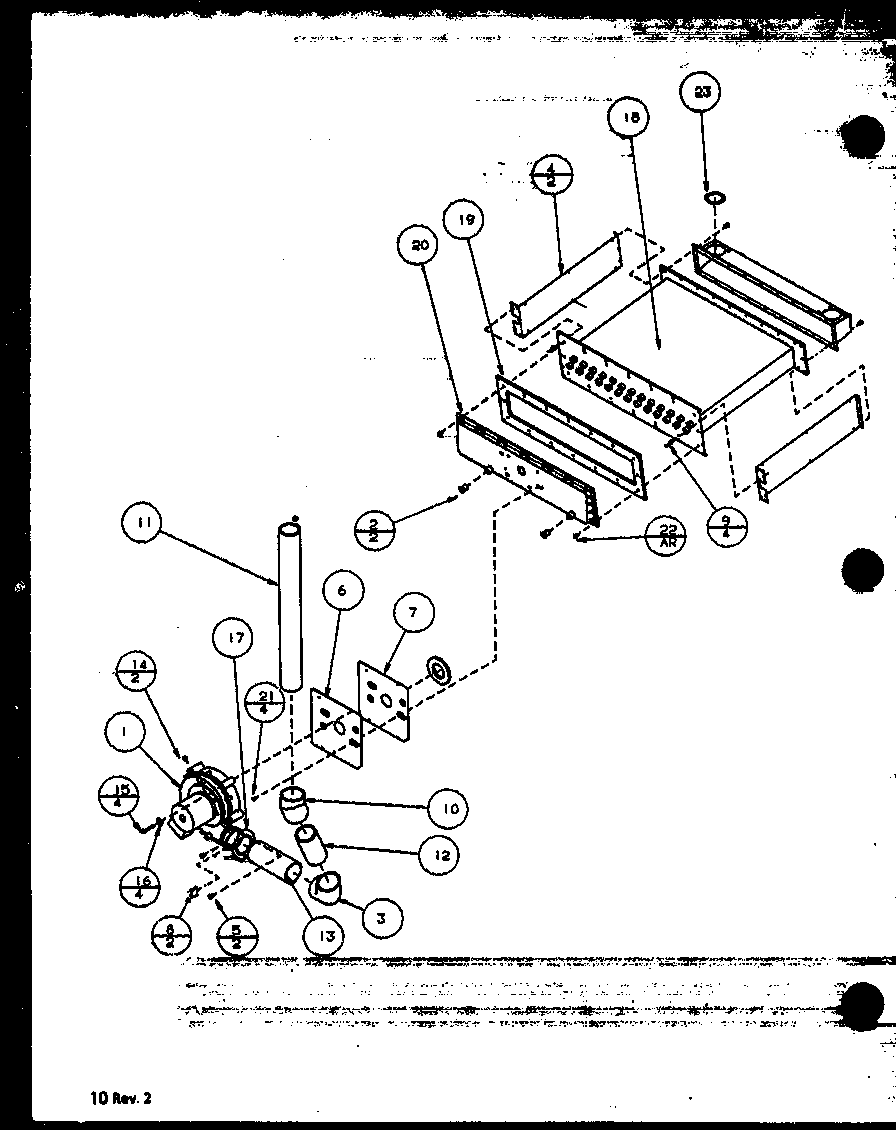 Amana model GUD070B30A/P1115002F misc hvac genuine parts