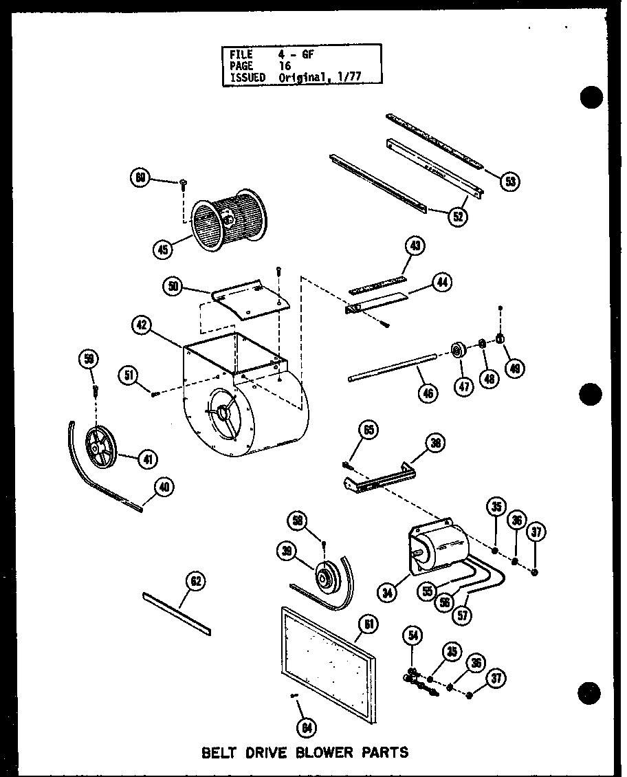 Amana model GH105DE/P96380-6F misc hvac genuine parts