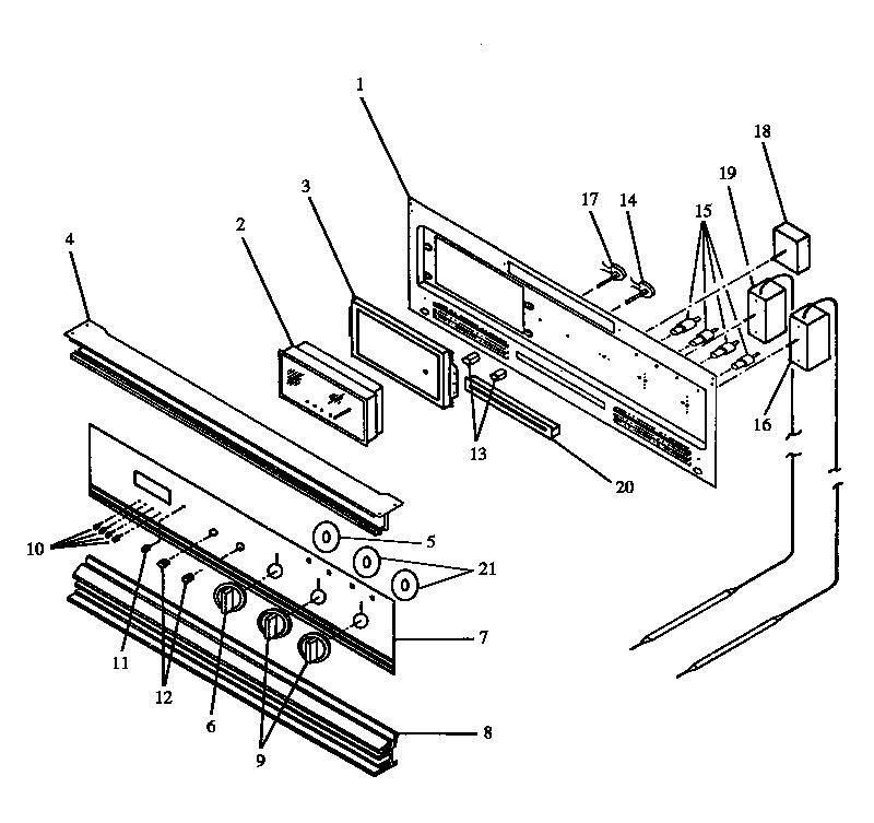 Modern-Maid model PHO303UB/P1132513N wall oven, gas