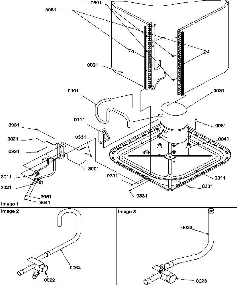 Amana model RCB24A2B/P1205302C air-conditioner/heat pump