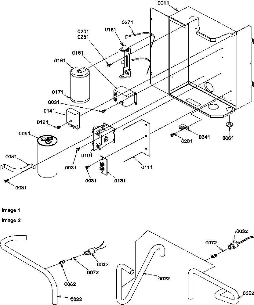 Amana model RCC36A2B/P1172421C air-conditioner/heat pump