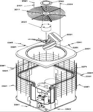 Amana model RCC36A2BP1172421C airconditionerheat pump