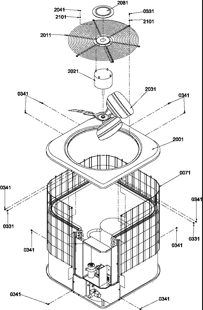 Amana model RCE42A2A/P1218704C air-conditioner/heat pump