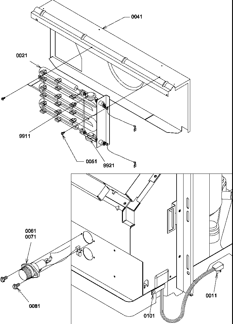 Amana model PTH153A50AA/P1202245R misc hvac genuine parts