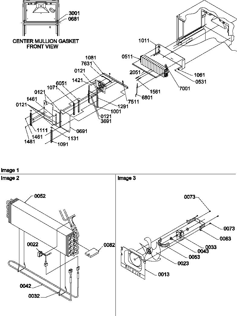 Amana model TR25V2W-P1316101WW top-mount refrigerator