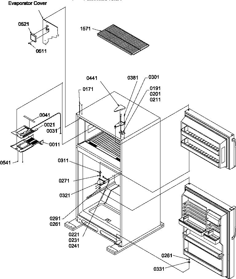 Amana Refrigerator Repair Manual Szde25kpe