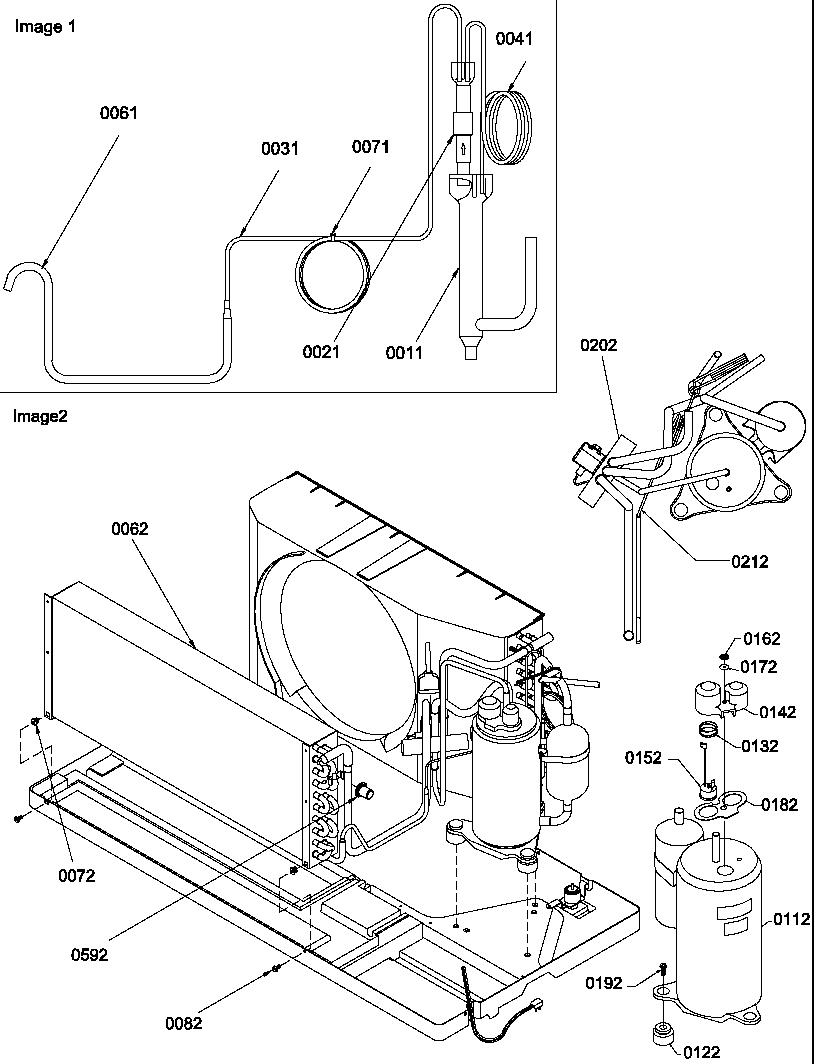 Amana model PTH153A35AB/P1225124R misc hvac genuine parts